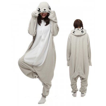 Seal Kigurumi Onesie Pajamas Animal Costumes For Adult