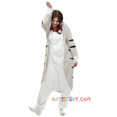 Cheese Cat Kigurumi Onesie Pajamas Animal Costumes For Adult 3a24a28ba