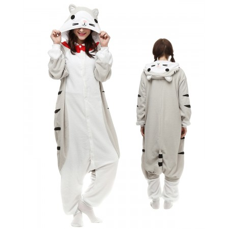 Cheese Cat Kigurumi Onesie Pajamas Animal Costumes For Adult