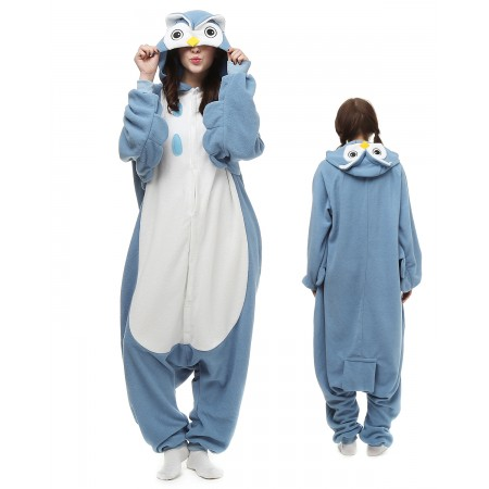 Owl Kigurumi Onesie Pajamas Animal Costumes For Adult