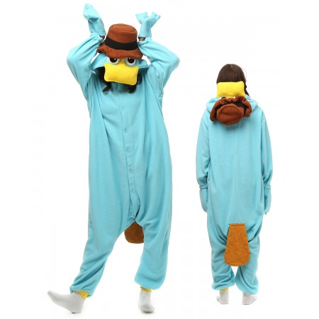 Platypus Kigurumi Onesie Pajamas Animal Costumes For Adult