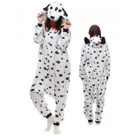 Spotted Dog Kigurumi Onesie Pajamas Animal Costumes For Adult