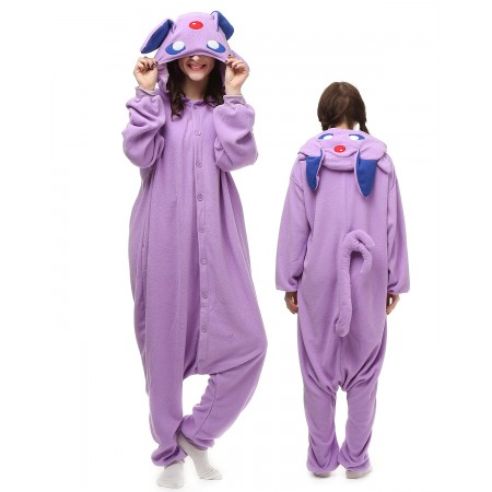 Purple Pokemon Kigurumi Onesie Pajamas Animal Costumes For Adult