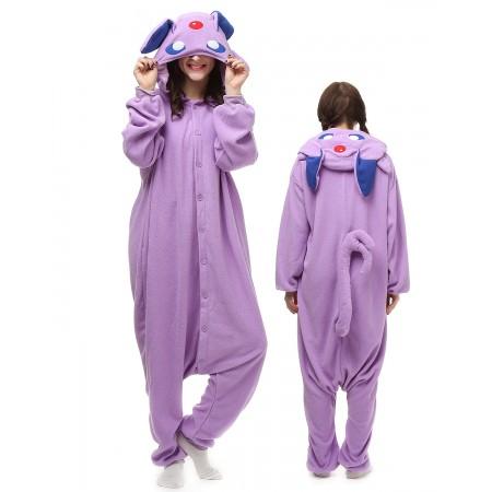 042ac1fa6dff Purple Pokemon Kigurumi Onesie Pajamas Animal Costumes For Adult
