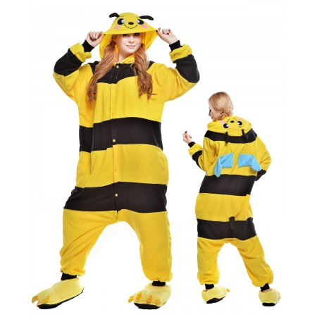 Bees Kigurumi Onesie Pajamas Animal Costumes For Adult