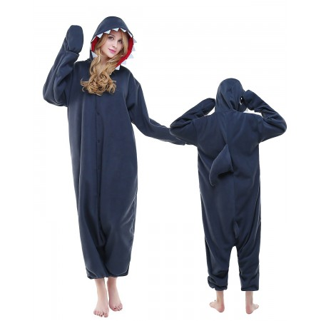 Shark Kigurumi Onesie Pajamas Animal Costumes For Adult
