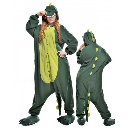 Dinosaur Kigurumi Onesie Pajamas Animal Costumes For Adult