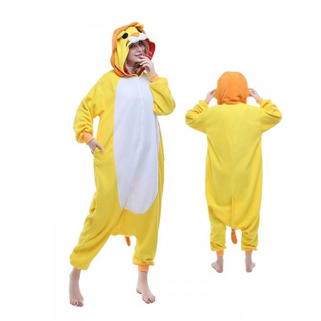 Lion Kigurumi Onesie Pajamas Animal Costumes For Adult