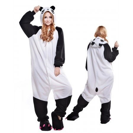 Panda Kigurumi Onesie Pajamas Animal Costumes For Adult