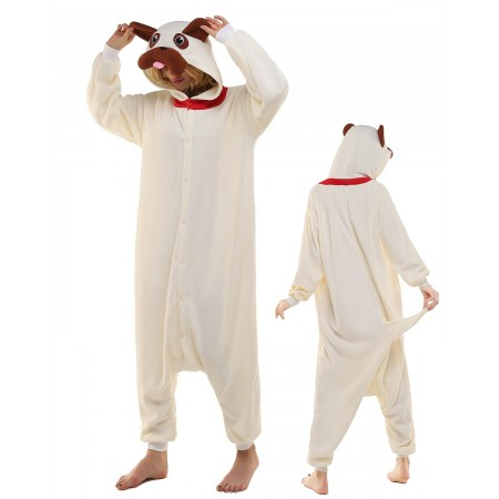 Dog Kigurumi Onesie Pajamas Animal Costumes For Adult