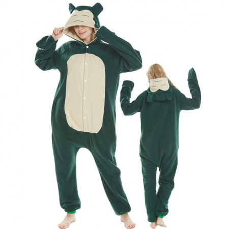 Pokemon Snorlax Onesie Costumes For Adult & Teens