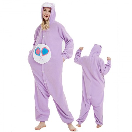 Candy Care Bear Onesie Costumes For Adult & Teens